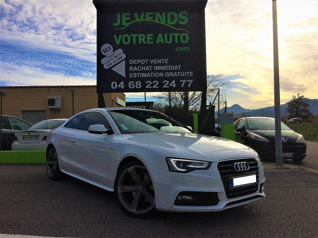 voiture audi a5 2 0 tdi 177ch s line a5 i ph2 occasion diesel 2014 75200 km 23224. Black Bedroom Furniture Sets. Home Design Ideas