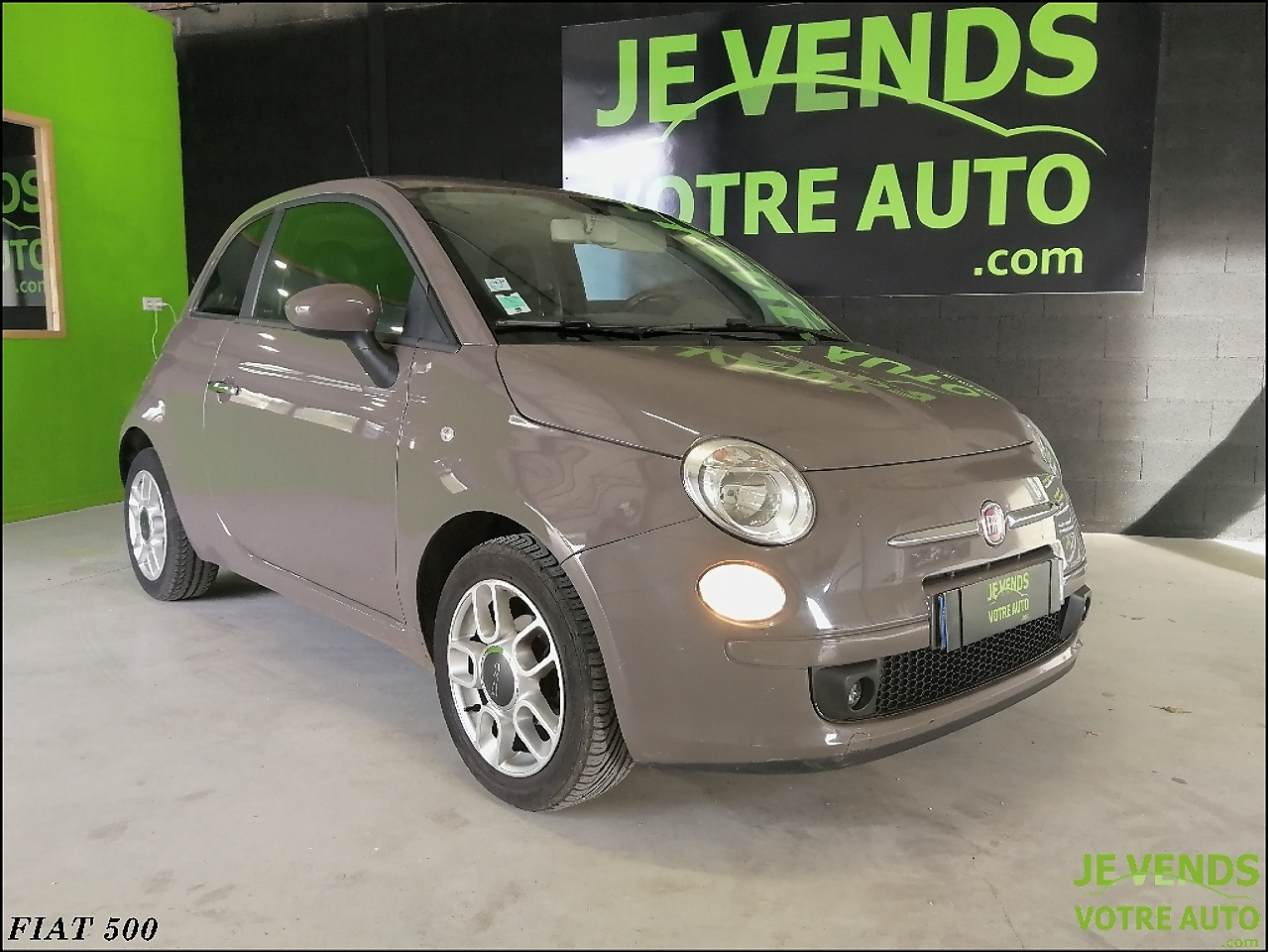 voiture fiat 500 1 2 8v 69ch sport 2008a occasion essence 2008 71600 km 5900. Black Bedroom Furniture Sets. Home Design Ideas