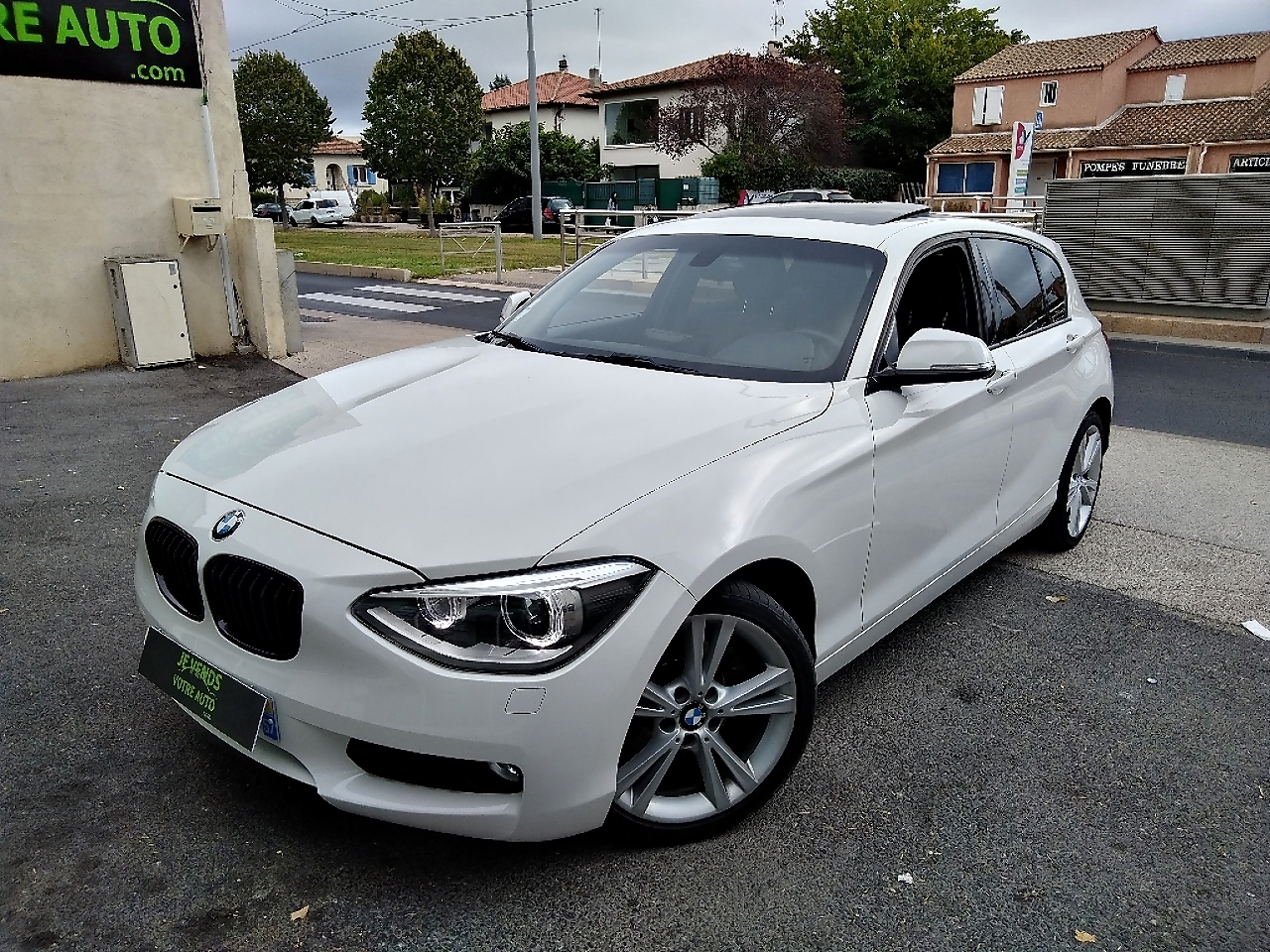 voiture bmw s rie 1 120d 184ch pack m sport 5p to occasion diesel 2012 175000 km 13490. Black Bedroom Furniture Sets. Home Design Ideas