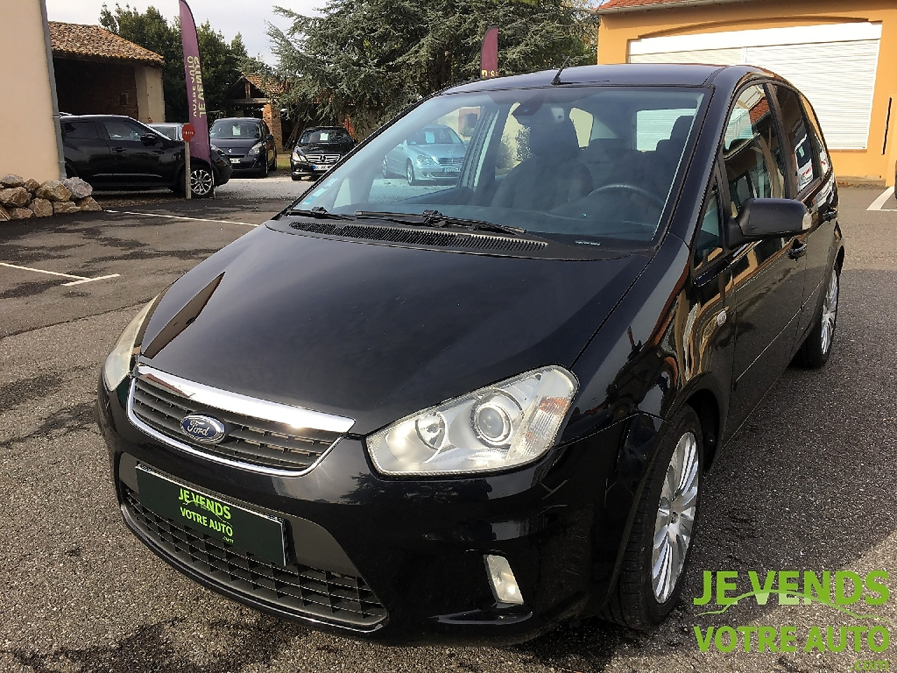 voiture ford c max 2 0 tdci 136ch titanium occasion diesel 2007 160500 km 4800. Black Bedroom Furniture Sets. Home Design Ideas